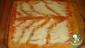 Яблочный пирог с заливкой – кулинарный рецепт