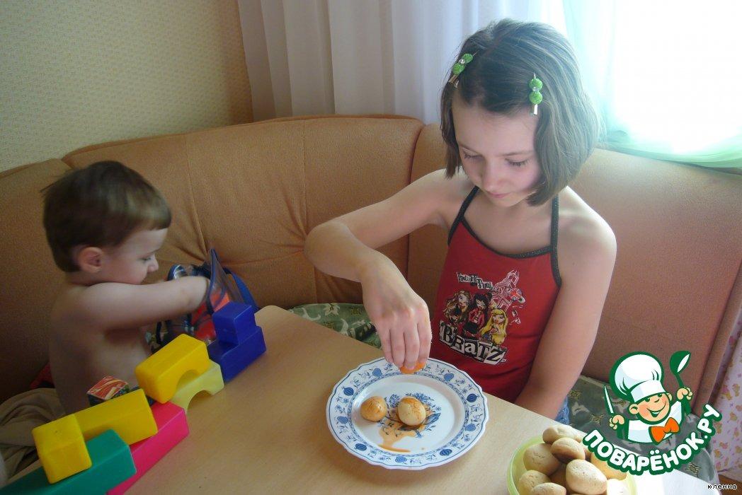 """Печенье """"Разноцветные клубнички"""""""