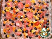 Тунцовая пицца ингредиенты