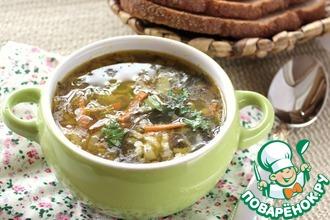 Рецепт: Суп с морской капустой