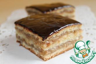 Рецепт: Венгерский пирог Жербо