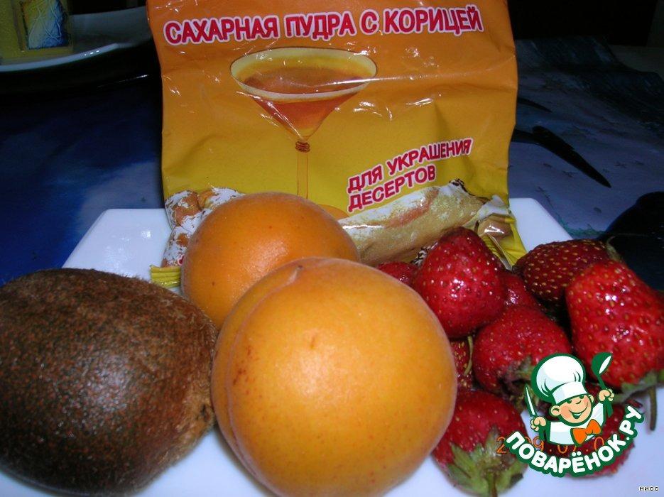 Десерт Фруктово-ягодный светофор