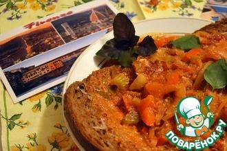 Рецепт: Аквакотта-тосканский хлебный суп