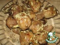 Куриные ножки, фаршированные грибами и сыром ингредиенты