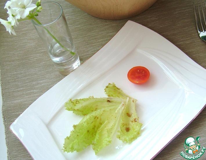 Рецепт: Французский салат от Владимира Познера