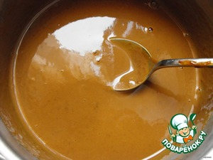 Heat the milk but do not boil, add remaining condensed milk and mix.