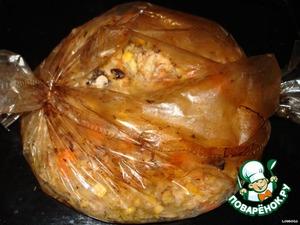 Курочка с савойской капустой – кулинарный рецепт