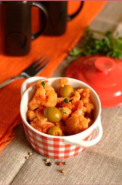 Цветная капуста в липком китайском соусе – кулинарный рецепт