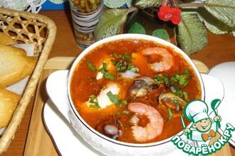 Рецепт: Итальянский рыбный суп