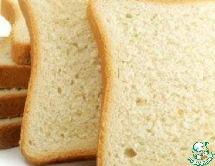 Рецепт: Быстрый белый хлеб