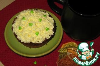 Рецепт: Пирожное Лаймовое наслаждение