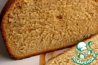 Рецепт: Цельнозерновой хлеб
