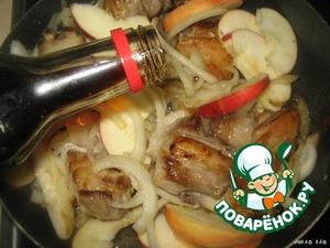 Баранина с яблоками – кулинарный рецепт