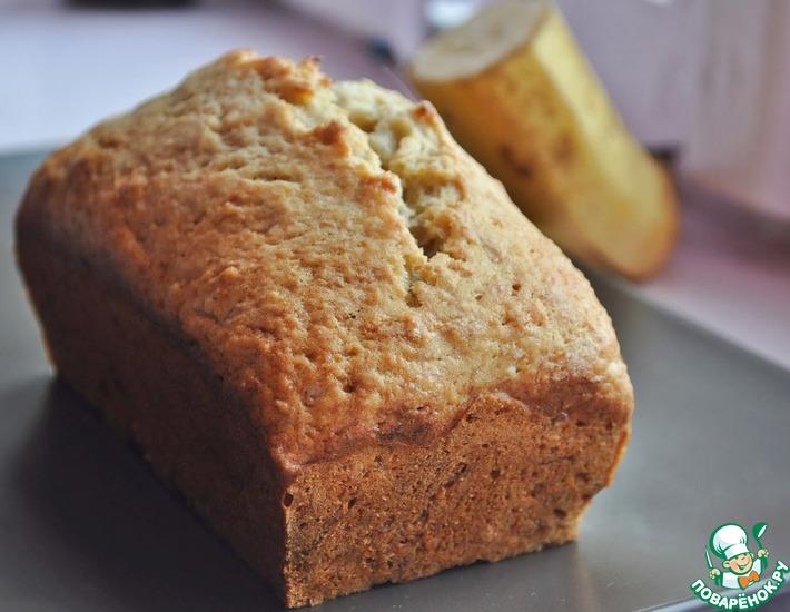 Рецепт: Хлеб с бананом и корицей