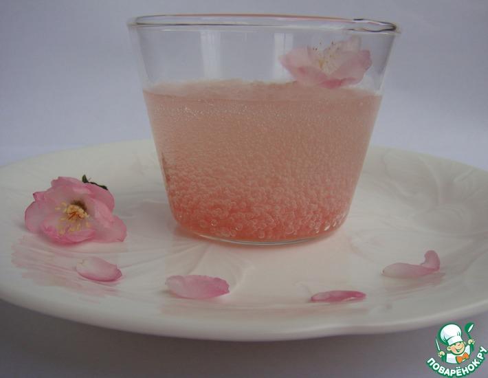 Рецепт: Десерт Цветение вишни