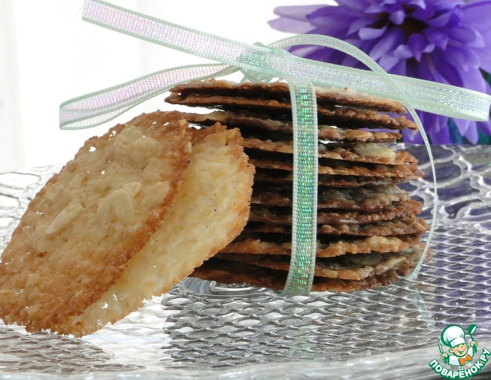рецепт печенья флорентино