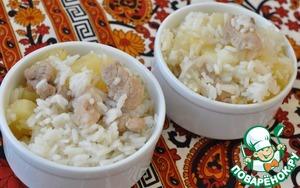 Рецепт Пелло свинина с рисом и ананасом