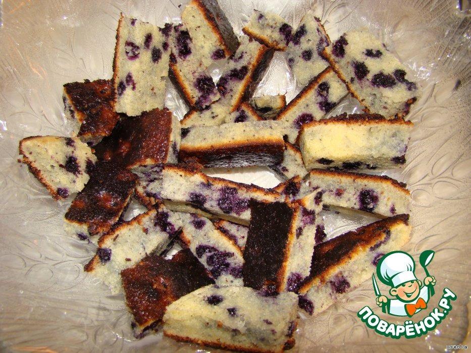 Торт Чернично -Фруктовый