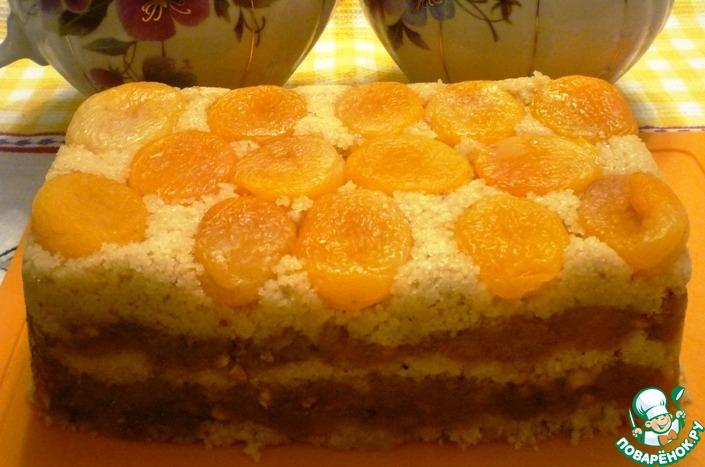 Марципановый десерт