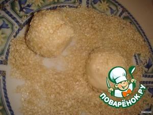 Сырные булочки с начинкой из маслин – кулинарный рецепт