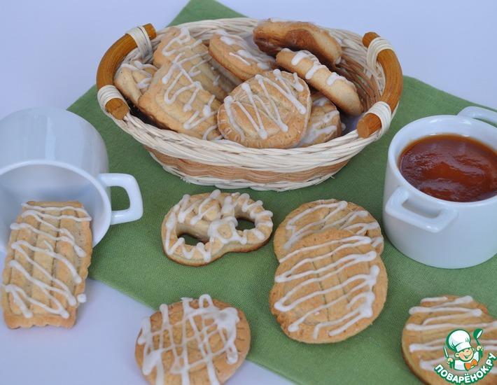 Рецепт: Абрикосовое печенье с виски