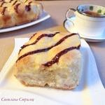 Пирог со сливочным творожным сыром