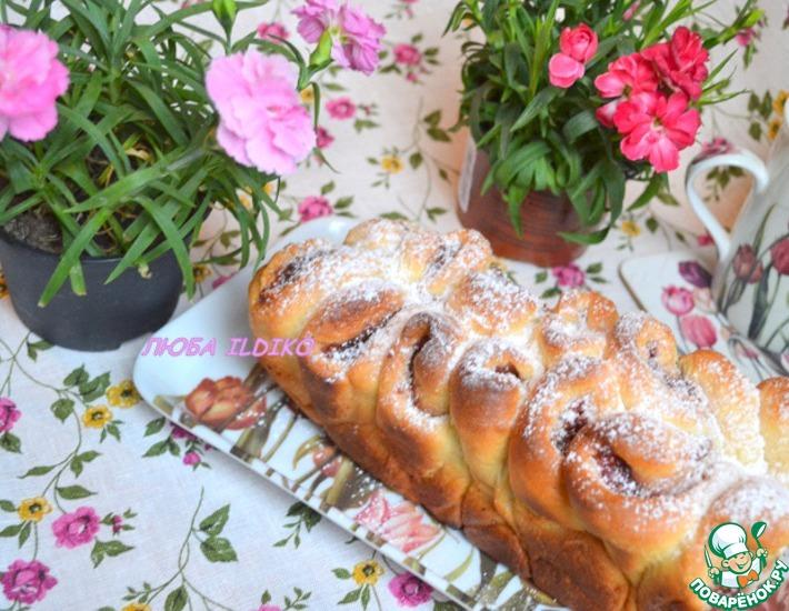 Рецепт: Итальянская вариация на тему Пирог Роза