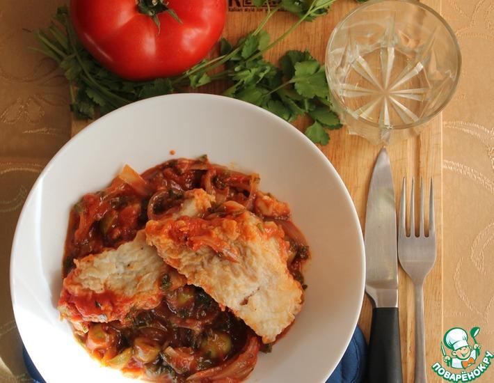 Рецепт: Суп из трески Zuppa di baccala