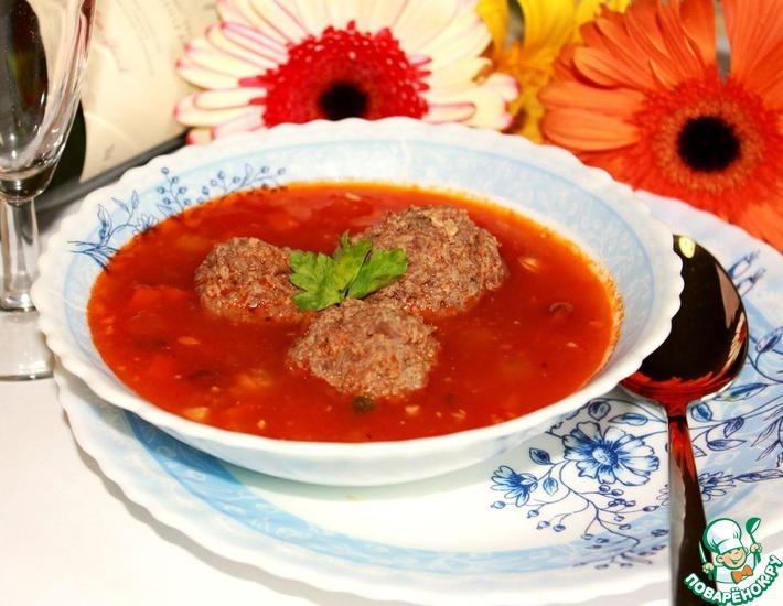рецепт супа с тефтелями из козьего фарша