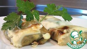 Рецепт Голубцы с грибами и яйцами