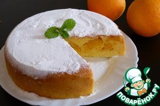 Рецепт: Апельсиновая шарлотка