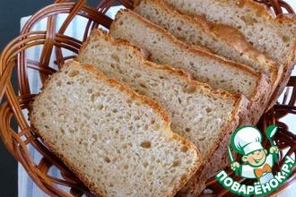 Рецепт: Хлеб пшенично-овсяный