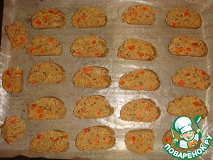 Ржаные постные бискотти – кулинарный рецепт