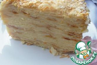 Рецепт: Торт Наполеон мягкий