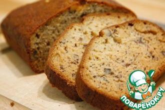 Рецепт: Ореховый хлеб
