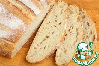 Рецепт: Бездрожжевой хлеб