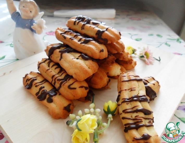 Рецепт: Рассыпчатое печенье