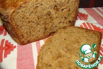 Рецепт: Домашний хлеб в духовке
