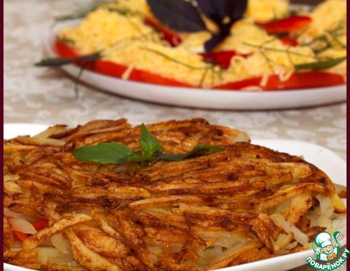 Рецепт: Рёшти картофель