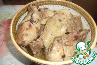 Рецепт: Курица в банке
