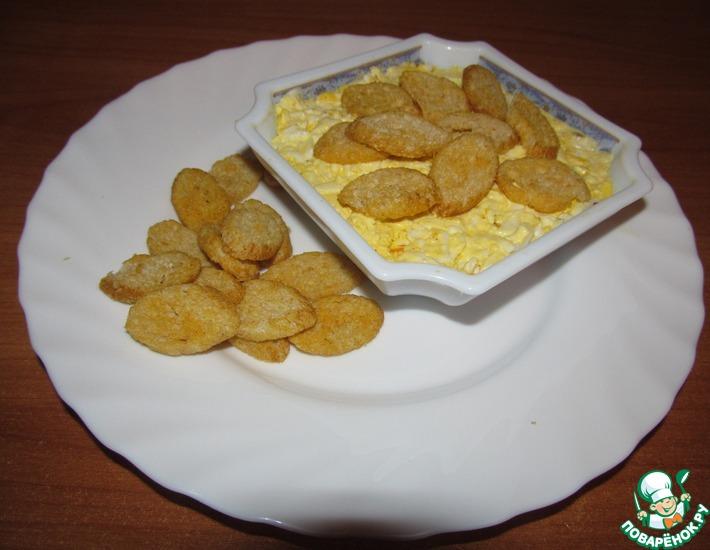 Рецепт: Салат с горбушей