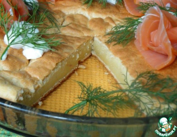 Рецепт: Блинный пирог
