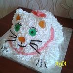Торт Пушистый котенок