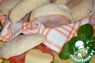 Рецепт: Хлебные булочки Английские мафины