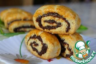 Рецепт: Клайша-печенье с финиковой пастой