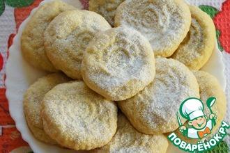 Рецепт: Кахк-арабское праздничное печенье