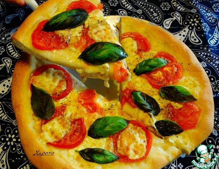 Рецепт: Пицца Маргарита