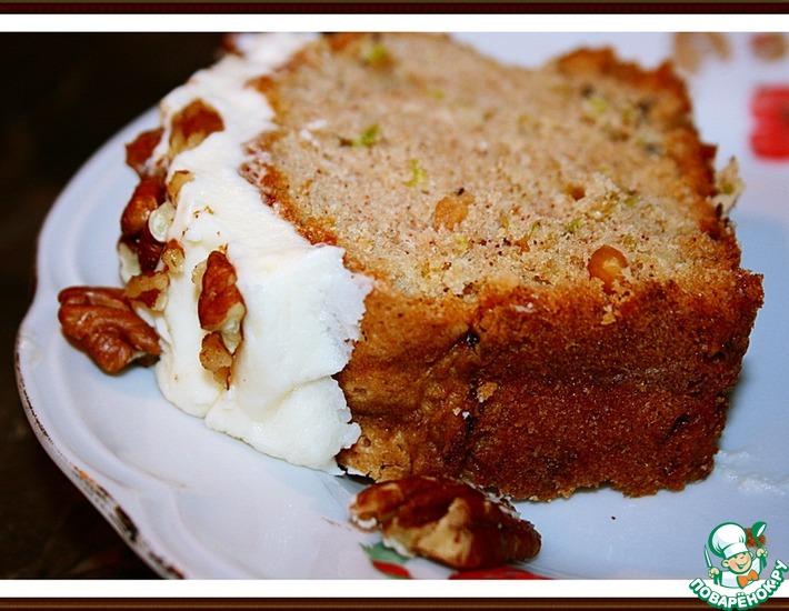 Рецепт: Огуречный пирог (хлеб)