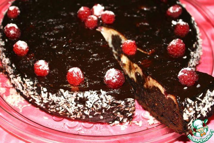"""Торт """"Малина в шоколаде"""""""