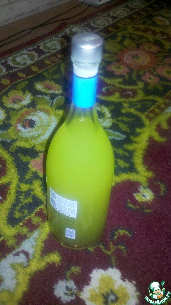 лимонный ликер на спирту